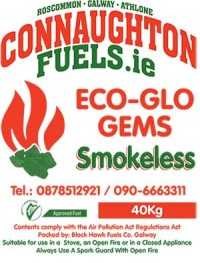 Connaughton Fuels Eco-Glo Coal 40KG