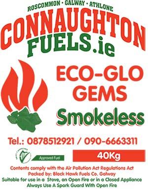 Connaughton Fuels Eco-Glo Coal 40KG