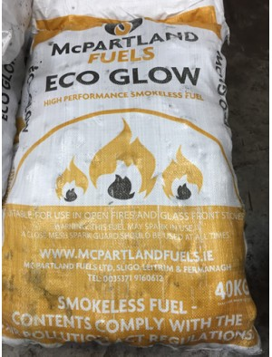 Eco Glow Coal 1 TONNE